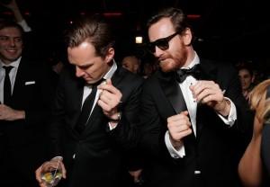 Cumberbatch Fassbender 2013 Golden Globes