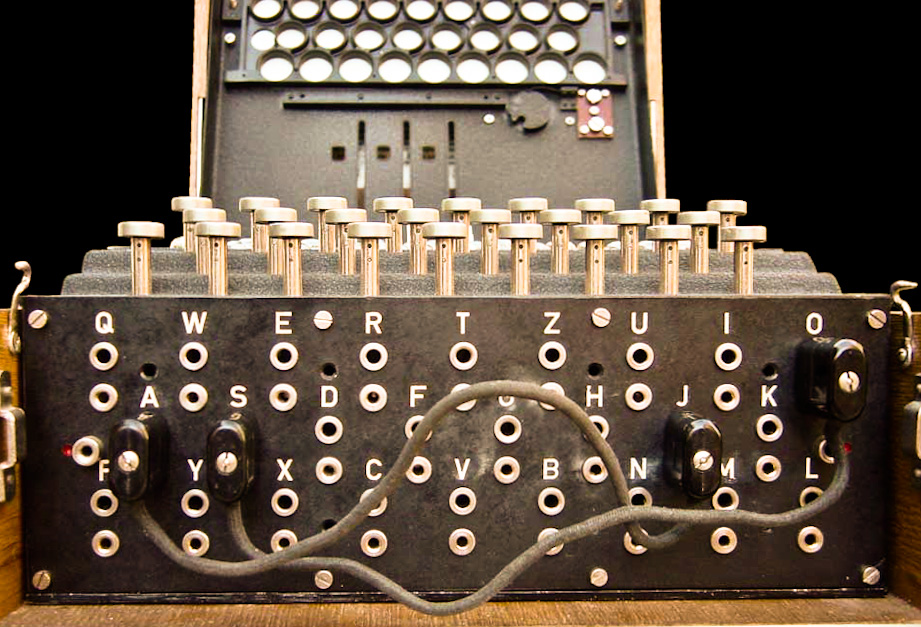 how does the enigma machine work